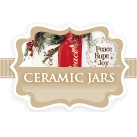 Christmas Ceramic Gift Jars