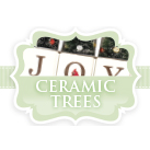 Christmas Ceramic Gift Trees