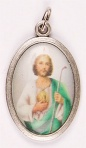 Medal - Oxidised/St. Jude Picture