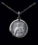 Necklet/Silver Plated/St.Jude