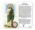 Prayer Card with Relic - Saint Jude