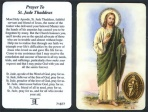 Prayer Card - Saint Jude