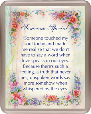 Acrylic Fridge Magnet/Someone Special   (3350)