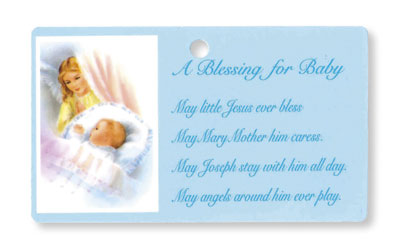 Baby Blessing - Blue   (3406/BL)