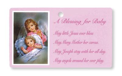 Baby Blessing - Pink   (3406/PK)