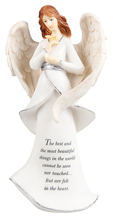 Resin 8 inch Message Angel/Most Beautiful...   (39602)