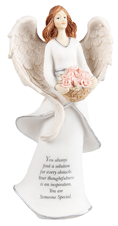 Resin 8 inch Message Angel/Someone Special   (39611)