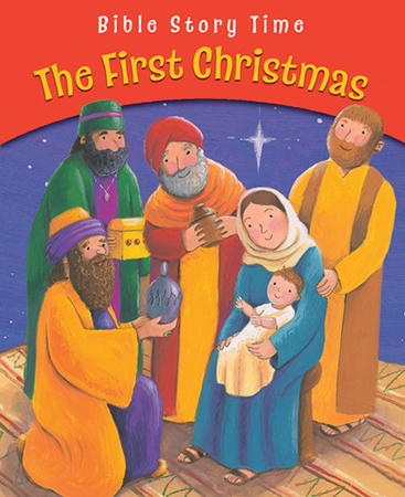 Book - The First Christmas/Paperback   (43181)