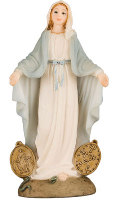 Florentine 5 1/2 inch Resin Statue-Medal   (51945)