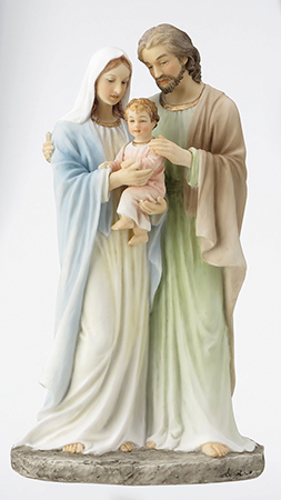 Veronese Resin Statue 9 inch Holy Family   (52729)
