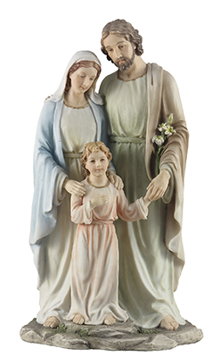 Veronese Resin Statue 10 inch Holy Family   (52730)