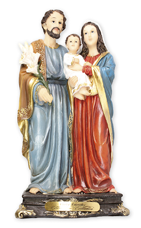 Florentine 5 inch Statue-Holy Family   (52934)