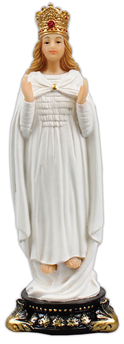 Florentine 5 inch Statue - Our lady of Knock   (52956)