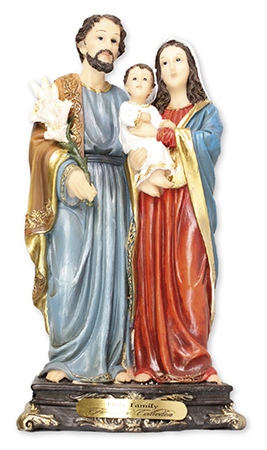 Florentine 8 inch Statue-Holy Family   (52964)