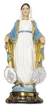 Florentine 8 inch Statue-Miraculous Medal   (52970)