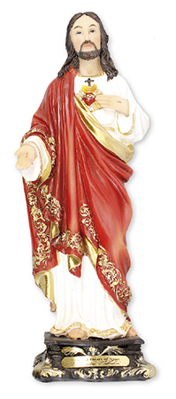 Florentine 8 inch Statue-Sacred Heart   (52972)