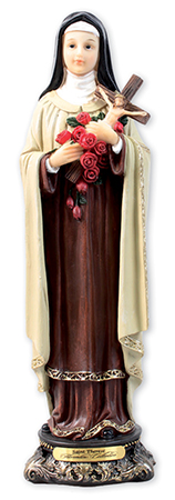 Florentine 8 inch Statue-St. Theresa   (52985)