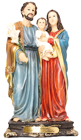 Florentine 12 inch Statue-Holy Family   (53904)