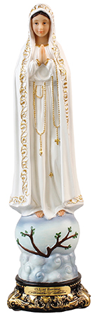 Florentine 12 inch Statue-Our Lady of Fatima   (53906)