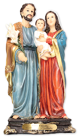 Florentine 16 inch Statue-Holy Family   (53934)