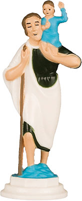 2 1/2 inch Magnetic Statue-St.Christopher   (5510/CHR)