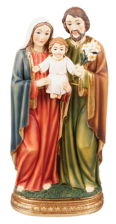 Renaissance 5 inch Statue - Holy Family   (56907)
