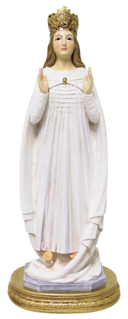 Renaissance 8 inch Statue - Lady of Knock   (56954)