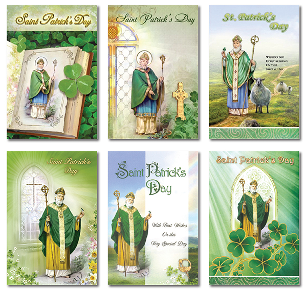 Saint Patrick's Day Card/Assorted Pack   (85465)