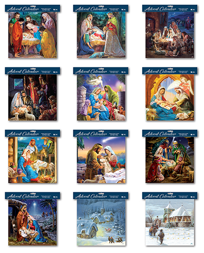 Advent Calendar/Bumper Pack/12 Designs   (95052)