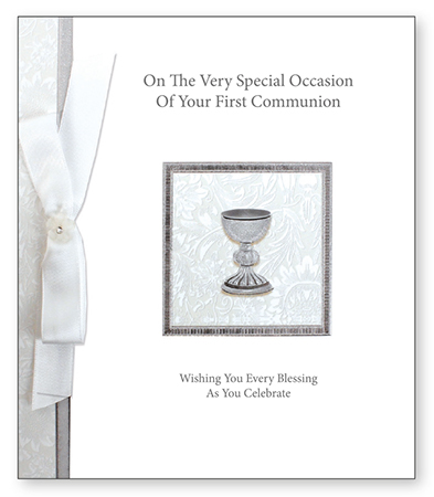 Communion Handcrafted Keepsake   (C4055)