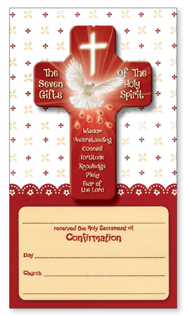 Confirmation Cross/Card/Certificate/Symbolic   (F10293)