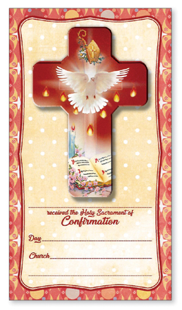Confirmation Cross/Card/Certificate/Symbolic   (F10294)