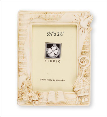 Resin Confirmation Photo Frame   (F3607)