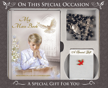 Confirmation Gift Set/Boy   (F564)