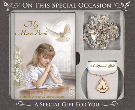Confirmation Gift Set/Girl   (F565)