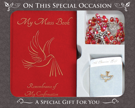 Confirmation Gift Set/Symbolic   (F569)
